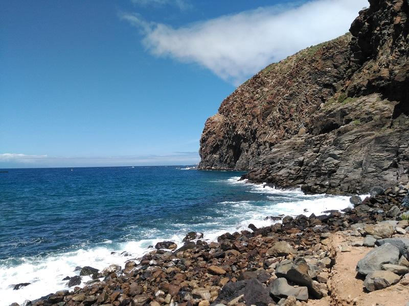playa la arenita mar
