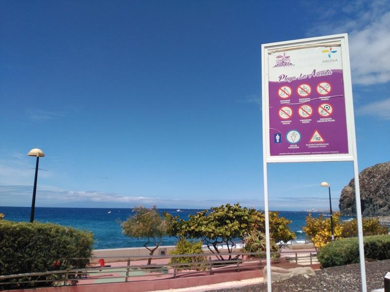 playa la arenita tenerife